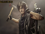 Daryl Dixon - Wallpaper no text by The-Bone-Snatcher