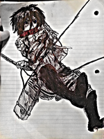 Mikasa Doodle by gryphon360