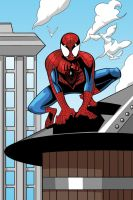 Covers - Ultimate Spider-Man #30 by OwenOak95