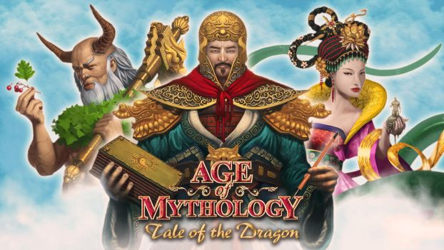 Age of Mythology - Tale of the Dragon cover art by Eburone