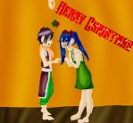 Merry Christmas: Young Ones Under the Mistletoe by KyokoAnimeCrazy