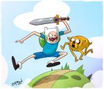 What time is it? Adventure time!! by DerekLaufman