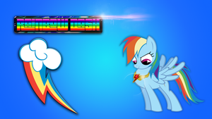 another Rainbowdash wallpaper xD by RainbowDerpy