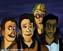 The Real Ghostbusters by EdArtGeek