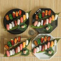 1:3 scale miniature Sushi sets for SGDC2014 by Snowfern