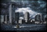 """""""Snowflakes in Jersey City"""" by PortraitOfaLife"""