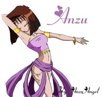 Egyptian Dancing Anzu v.2 by AnzuAngel