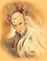 Thranduil, Lee Pace by Artsy50