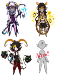 [CLOSED] Fantroll Adoptables + RAFFLE by Mosquii