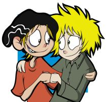 Tweek and Edd by sugapiessofly