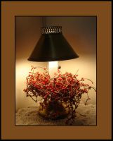 Little Red Lamp by bornahorse