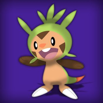 Chespin by acer-v