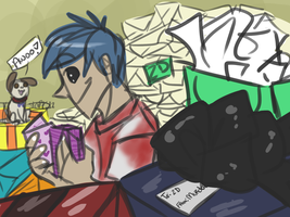 Look at all these gifts..! by Ask-2D