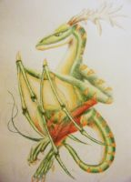 Green Serpent by mayle128