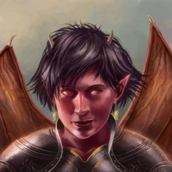 Imp Portrait by DrStein