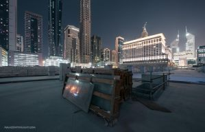Glass doesn't blush by VerticalDubai