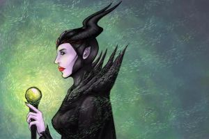 Maleficent by Eroha