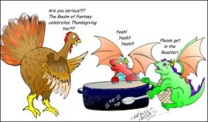 A bit of Thanksgiving Humor by dracodawnstar