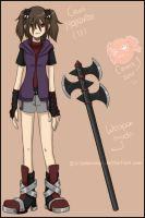 My Soul Eater OC by xDarkreepx