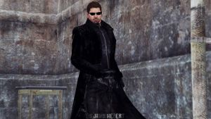 Chris as Wesker by JhonyHebert