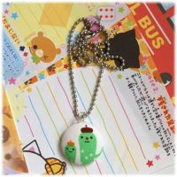 Decole Cactus Fabric Necklace by Keito-San