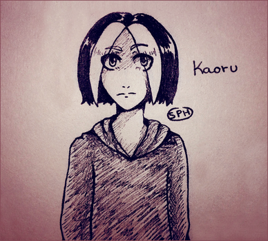 The Marvelous Idol Show| Kaoru| Inktober Day 30 by SpanishPandaHero