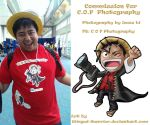 Chibi Luffy commission by Winged-warrior