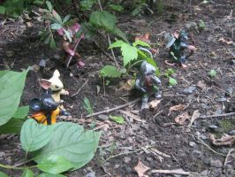 Mouse Guard Patrol Figurines by Kanthara