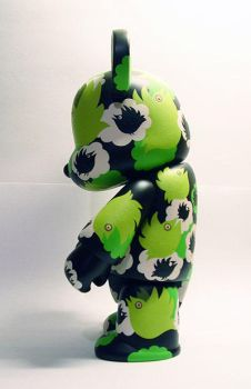Qee Bear Custom birds - left by Tan-Ki