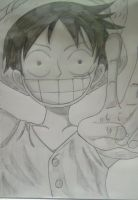 Monkey D. Luffy by JulyM93