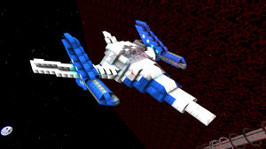 starmade Star-fox Arwing by lordkalem