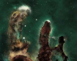 The Pillars of Creation by Topaz172