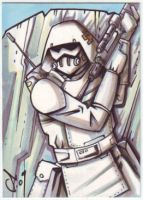 McQuarrie concept Snowtrooper by LanceSawyer