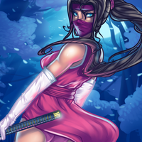 Ninja Beauty by Dragoart