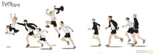 Haikyuu!! by Dver