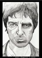 """The Chief"" Noel Gallagher by rori77"