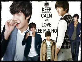 KEEP CALM AND LOVE LEE MINHO BY ALE.M by DDLoveEditions