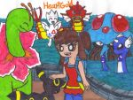 Heartgold Team by spookykatelyn