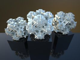 Fractal 3D Model Free Download by nic022