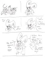 Mini comic: Nose (part 1) by Lady-Of-Mars
