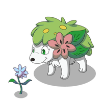 Commission: Shaymin by AttackTheMap