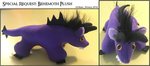 Special Request Behemoth Plush by IchibanVictory