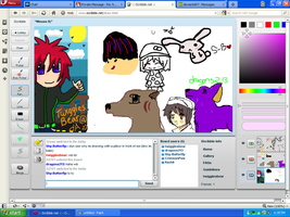 Iscribble screenshot by twigglesbear