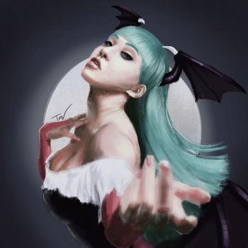 Morrigan by tiagoexp1