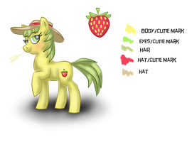 Straw Berry by Queenga