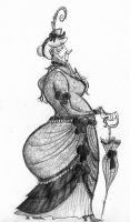 Another Victorian Lady by deepwoodwayfinder