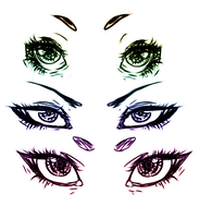 More Eyes by AskMothPrince