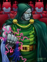Dr. Doom Commish by lordmesa