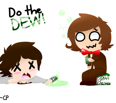 Edward and Stranger do the Dew by Chickenpea