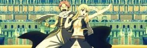 All right!!-Nalu (Fairy Tail) by LukaFromFairyTail